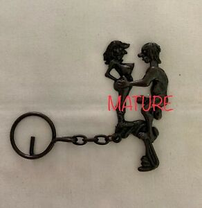 Movable Characters Keychain Adult Novelty Gag Gift Bachelor Bachelorette Party