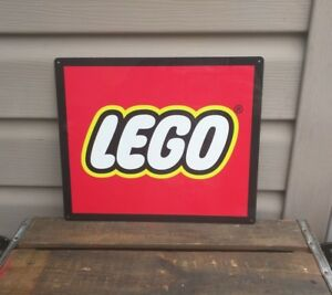 Lego Metal Sign Toy Advertising Game Room Mancave 10x12
