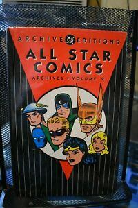 All Star Comics Archives Volume 9 DC Deluxe Hardcover NEW SEALED RARE OOP JSA