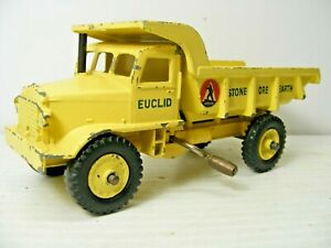 DINKY SUPERTOYS #965 'EUCLID' Operating DUMP TRUCK TIPPER Vintage