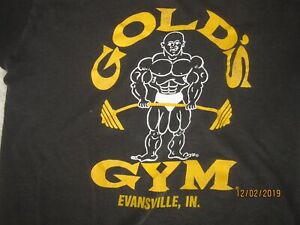 GOLDS GYM SHIRT FROM 1984 AND SECOND BONUS SHIRT !!!!!!!!!!!!! $39.95