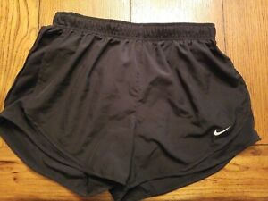 Nike Women's Tempo Running Shorts Large Black Excellent Condition $19.50