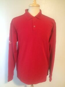 Mens Large Under Armour Long Sleeve Polo $20.00