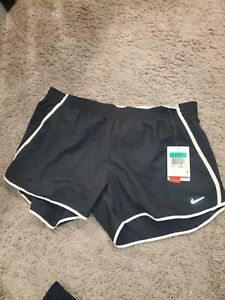 Nike Women Low Rise Tempo Shorts BLACK Size XL 339866 015 Inner Liner $20.00