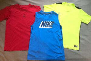 boys nike shirts size large $4.00