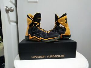 Rare Sungold Color way Under armour Charge BB shoe Stephen Curry $169.00