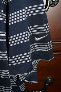 Men's Nike Golf Dri Fit Tour Performance Short Sleeve Polo Shirt Navy Size 3XL $28.95
