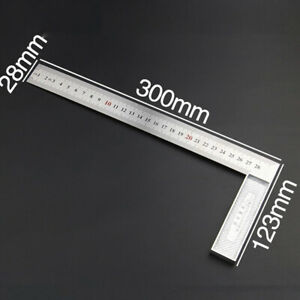 1PC Steel L Square Angle Ruler 90 Degree Ruler For Woodworking Tool Cheap $6.18
