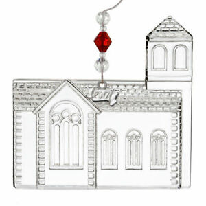 Waterford Crystal Church Ornament # 40023174 New 2017
