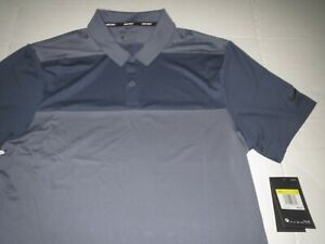 Men's Nike Dri Fit Golf Polo Shirt Gray Size Small MSRP $60.00 **NEW** $34.95