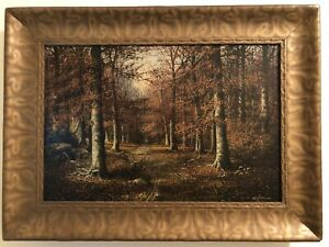 William Mckendree Snyder Forest Painting