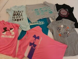 Under Armour Girls Youth Small Lot $8.57