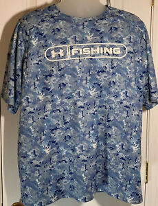 Under Armour Fishing Shirt Mens Size XL $13.99