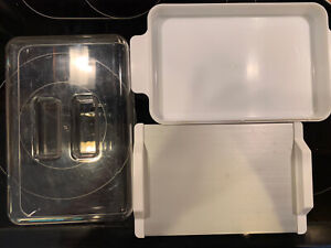 Rapid Defrosing Thawing Tray With Case To Prevent Leaking