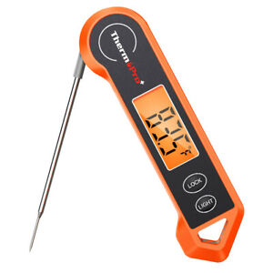 ThermoPro Waterproof Digital Instant Read Meat Thermometer 4 Kitchen Cooking BBQ