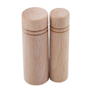 Portable Wooden Sewing Holder Toothpick Wood Organizer Needle Box Storage MP $1.56