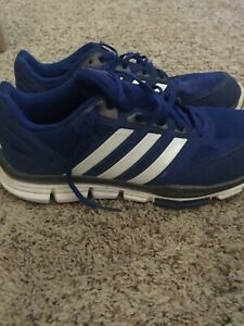 Adidas Running Shoes Size 10.5. BLUE $24.99