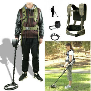 Universal Metal Detecting Harness Sling Swing Ground Metal Detector Support Belt $32.99