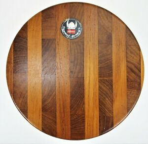 """Round Cutting Cheese Board Digsmed Denmark 8.75"""" x 3/8"""""""