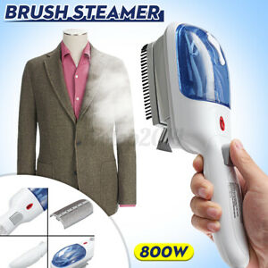 US Clothes Portable Steam Iron Handheld Fabric Laundry Steamer Brush Travel 800W