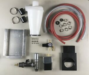 BLAST CABINET UPGRADE KIT Harbor Freight Metering Valve Dust Collection Baffle