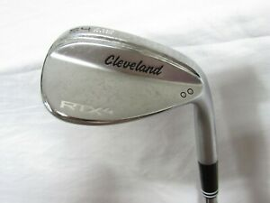 New Cleveland RTX 4 Satin 54* Wedge 54.10 Tour Issue S400 Stiff flex Steel RH