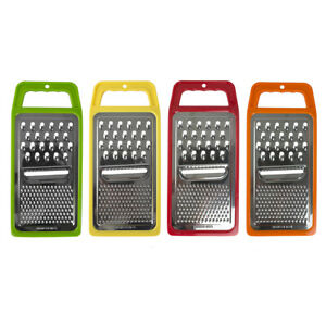 Home Basics 3 Way Cheese Hand Held Flat Cheese Grater