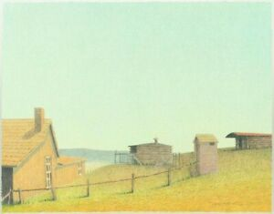 Russell Chatham original lithograph OLD HOMESTEAD SND $45.00