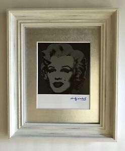 ANDY WARHOL ORIGINAL 1984 SIGNED MARILYN MONROE PRINT MATTED TO BE FRAMED 11X14 $147.00