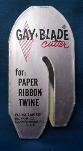 """VINTAGE 1950#x27;s STANLEY HOME PRODUCTS GAY BLADE CUTTER 3"""" X 1.5"""""""
