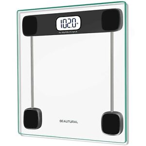 Beautural Precision Digital Body Weight Bathroom Scale with Lighted Display ... $22.49