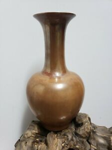 Chinese old Porcelain Red Glazed Porcelain Vase $200.00