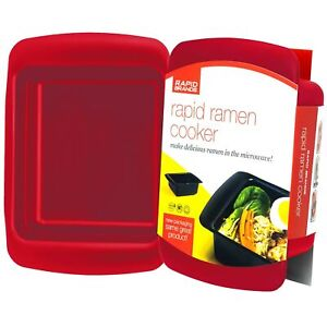 Rapid Ramen Cooker Microwave Ramen in 3 Minutes BPA Free and Dishwasher S... $13.99