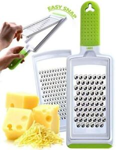 Cheese Grater Handheld Fine & Coarse Stainless Steel – Dishwasher Safe