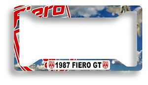Fiero Custom License Plate Frames Personalized MADE IN USA NEW DESIGNS