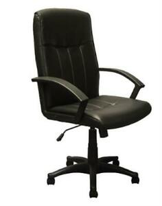 Advantage High Back Black Leather Executive Office Chair KB 3001