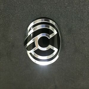 1X Cinelli Bicycle Bike Alloy Head Badge Decals Stickers Free Shipping $14.19