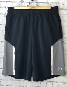 Under Armour Shorts Size Large Mens Loose Fit Coupe Black $12.99