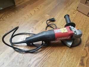 SUHNER UWK 10 R 150 120V Electric 6quot; Right Angle Grinder $150.00