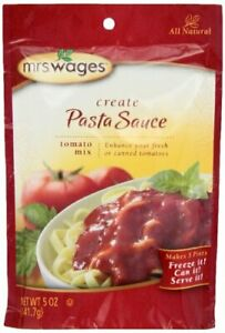Pasta 5-Ounce Pouches No Artifical Flavor Multi Storage Pack of 6 Durable New