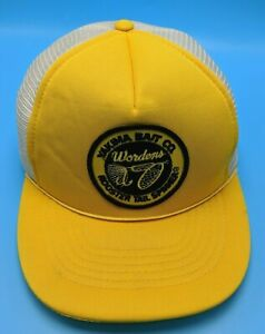 YAKIMA BAIT COMPANY vintage adjustable cap hat rooster tail spinner fishing $19.95