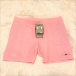 NWT medium pink under armour compression slider shorts $24.99