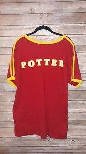 The Wizarding World of Harry Potter Gryffindor Quidditch Jersey Shirt Size Small $32.00
