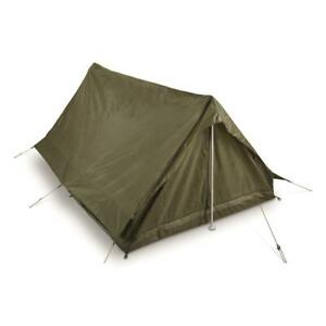 Genuine French Military Surplus F1 2 Person Combat Field Pup Tent Shelter NEW $65.99