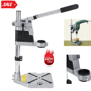 Clamp Drill Press Stand Adjustable Workbench Repair Tool for Drilling USA