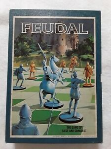 Feudal board game The Game Of Siege And Conquest 1967 Pre owned