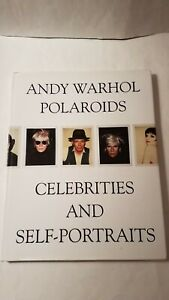 ANDY WARHOL: POLAROIDS CELEBRITIES AND SELF PORTRAITS By Francesco Clemente VG $46.50