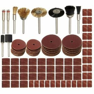 160Pcs Rotary Tool Accessories Kit Grinding Polishing Cutting Sanding For Dremel $8.59