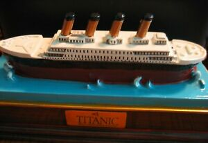 Souvenir TITANIC Ship Model from the Titanic Museum plus BONUS Gold Plated 1 oz.