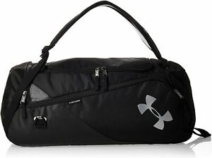 Under Armour Contain 4.0 Travel Duffle Backpack 1316569 001 BRAND NEW black $64.99